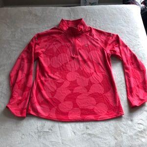 Nike running Girls Half-zip pullover XL